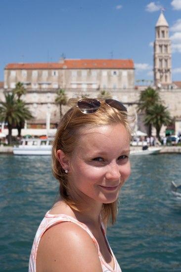 Harbour of Split, Croatia