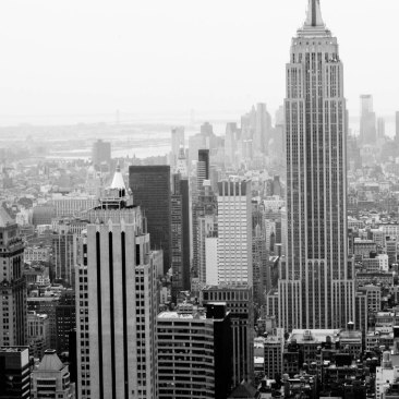 Empire State Building from Rockefeller centre