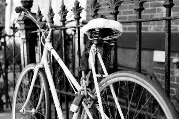 Convenient bicycle lock