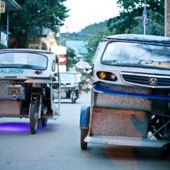 Palawan - El Nido - Tricycles